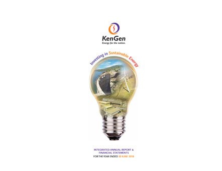 2018 Full Year KenGen Integrated Report 1